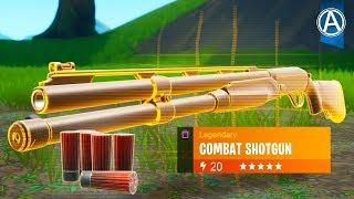 "NEW ""COMBAT SHOTGUN"" Gameplay! (Fortnite Battle Royale SEASON 9)"