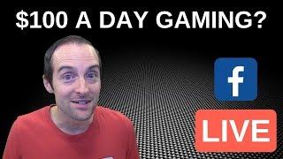 Günde 100 dolar Oyun Facebook üzerinde FB GS Canlı!