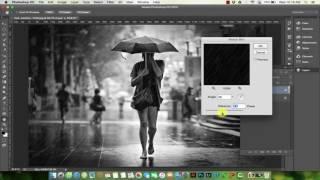 Hướng dẫn Blend màu - Cách tạo các hiệu ứng mưa tuyết trong Photoshop