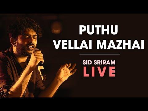 Sid Sriram live   Puthu Vellai Mazhai   Rhythm 2019