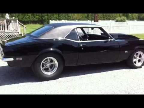 68 Camaro Pro Street Ss 496 Youtube