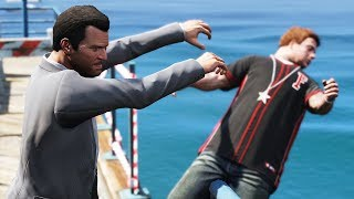 GTA 5 Shoving Pedestrians Episode 1