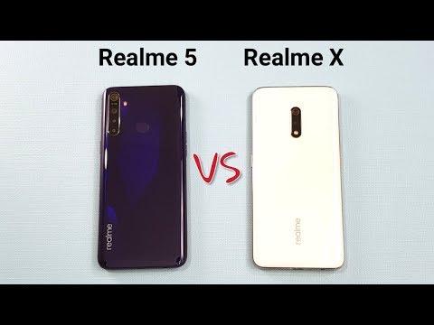 Realme 5 vs Realme X SpeedTest Camera Comparison