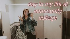 day in my life as a community college student