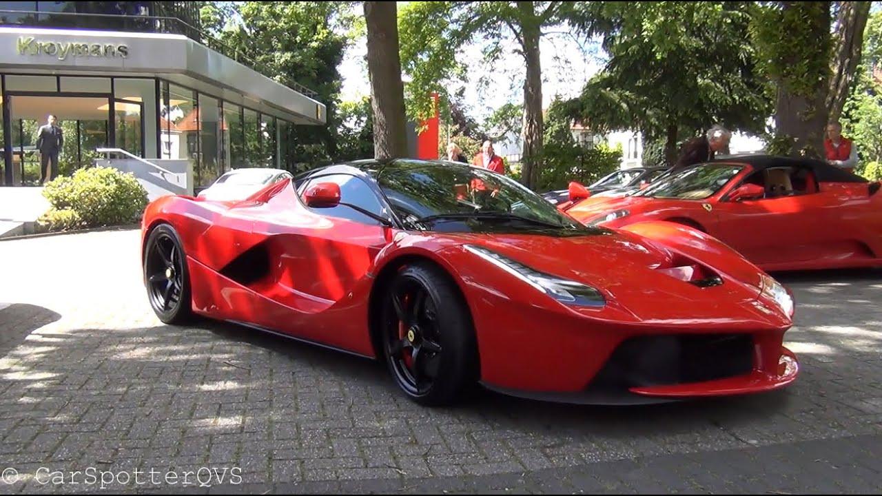Ferrari LaFerrari in the Netherlands: Ferrarichat Deil Meeting  YouTube
