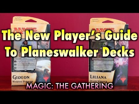 MTG - The New Player's Guide To Planeswalker Decks for Magic: The Gathering