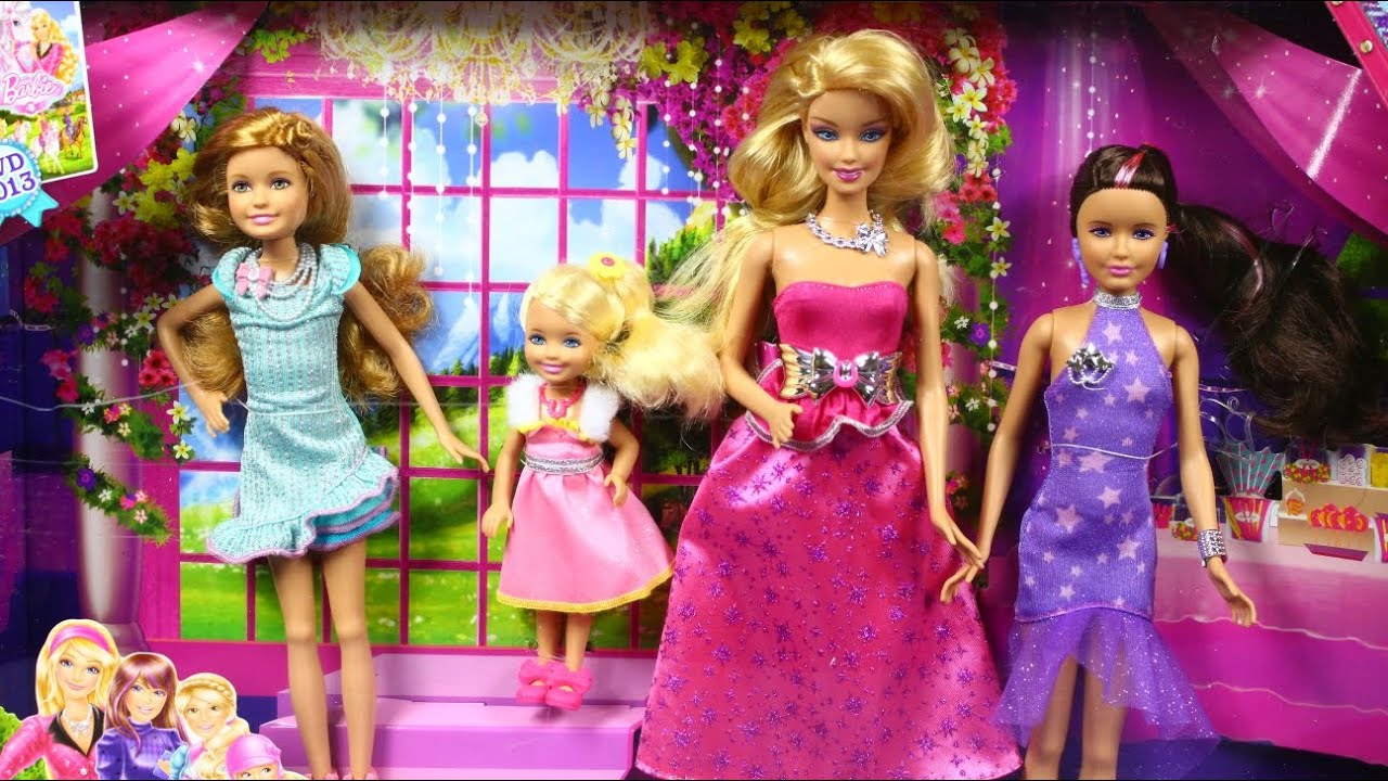Куклы Барби Набор Барби и Скиппер Barbie and Skipper Dolls Review .