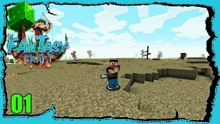 "Fantasy Craft : ""Gathering Resources"" #01 wt Akan22 ""Modded Minecraft"