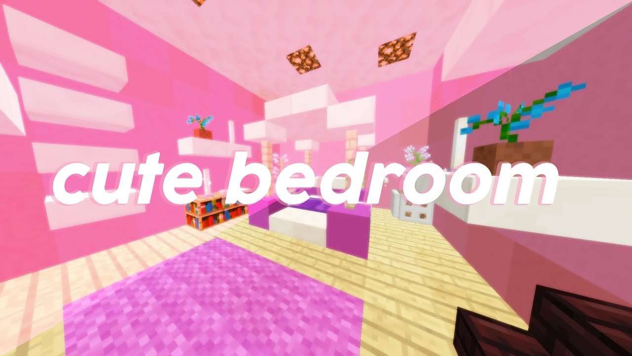 Cute Styled Girly Room | Minecraft Tutorials | Picatis ...