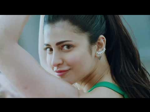 Shruti Hassan hot navel show - Slow motion