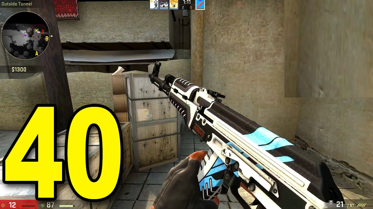 CS:GO - Part 40 - TmarTn Carries?! (CounterStrike: Global Offensive Gameplay) thumbnail