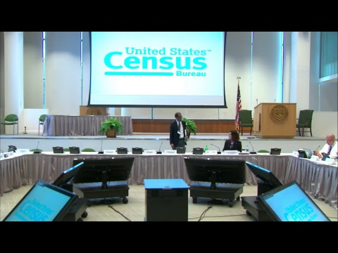 Census Scientific Advisory Committee Meeting Day 1, 9/14/17