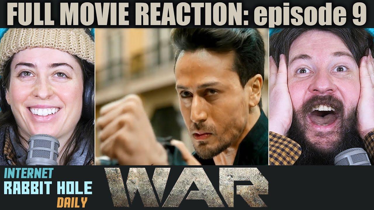 Download WAR   FULL MOVIE REACTION   Hrithik Roshan   Tiger Shroff   episode 9