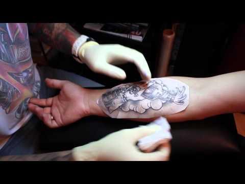 Татуировка с нуля. Выпуск 2. Трансферная бумага