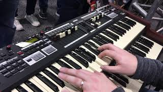 KEYBOARD, Jim Alfredson and the Hammond SKx at NAMM 2018
