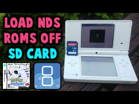Loading NDS Games Off Your DSi's SD Card!