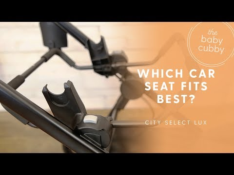 Baby Jogger City Select Lux: Which Car Seats Fit? SEE DESCRIPTION- UPDATED VIDEO AVAILABLE
