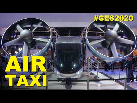 Bell Nexus 4EX: All-Electric Air Taxi at CES 2020