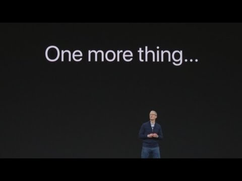 ONE MORE THING iPhone X  (2017)