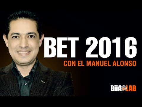 BET 2016 - Manuel Alonso