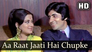 Aa Raat Jaati Hai (HD) - Benaam Songs - Amitabh Bachchan | Helen | Asha Bhosle | Mohammed Rafi