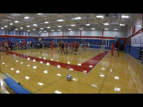 2016 Lake Land Volleyball vs  Illinois Central