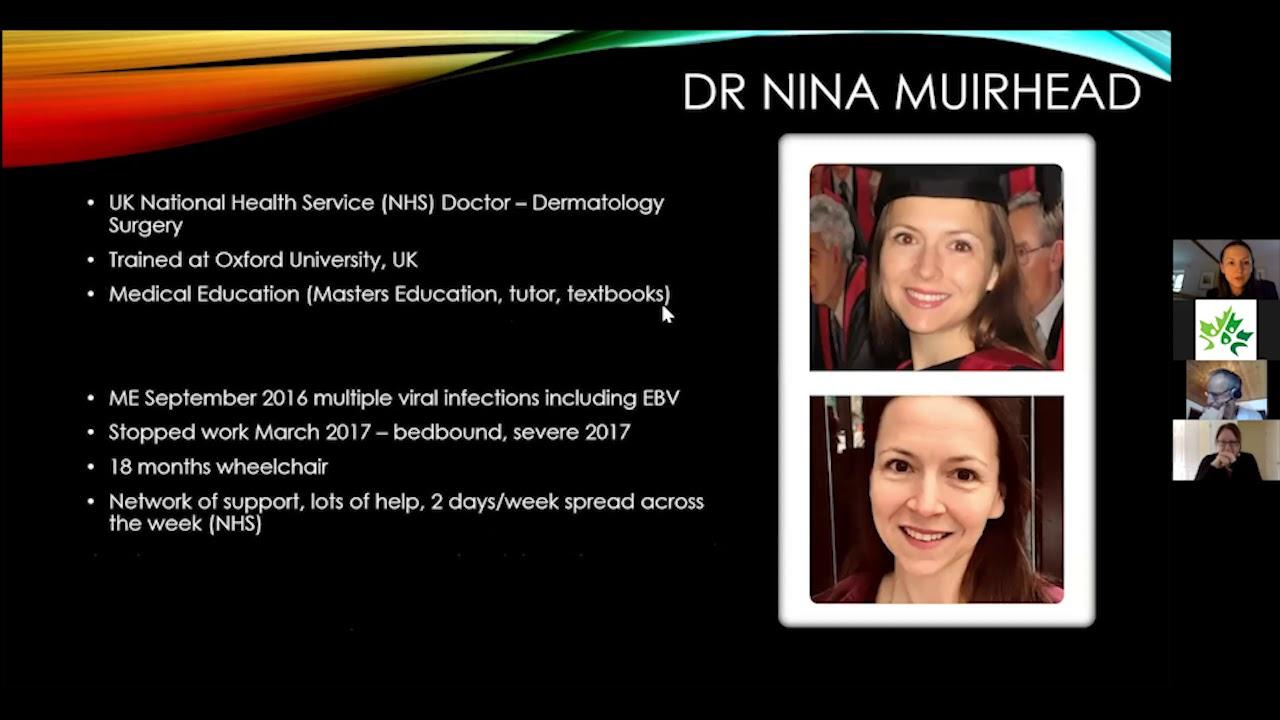 A Conversation About Myalgic Encephalomyelitis with Dr. Nina Muirhead