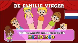 Kinderliedjes | Tekenfilm | DE FAMILIE VINGER | Minidisco