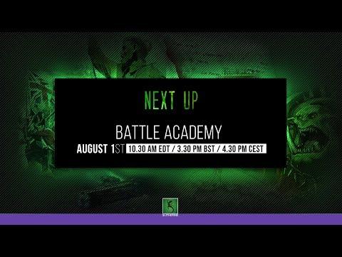 Battle Academy STREAM 4:30 CEST