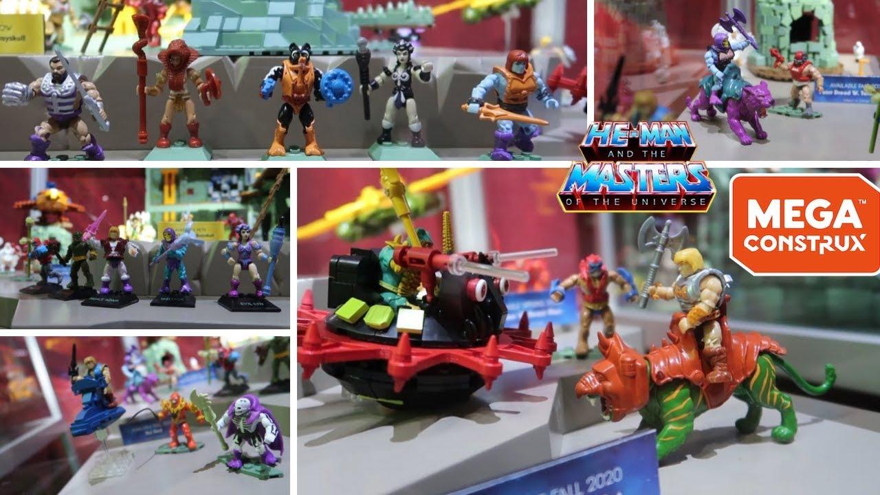 Mega CONSTRUX He-man Masters of the Universe MOTU