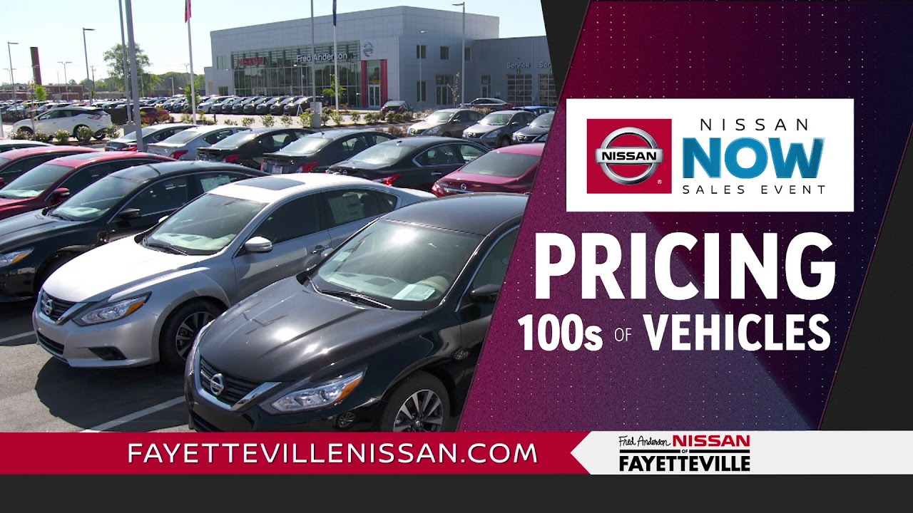 Fred Anderson Nissan Of Fayetteville Nissan Now Youtube