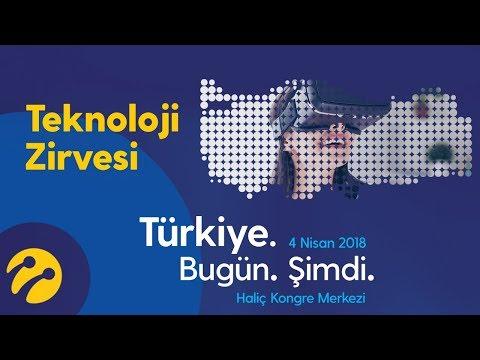 CANLI YAYIN: Teknoloji Zirvesi 2018 Türkiye. Bugün. Şimdi