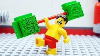 - Lego VIP Gym Fail Money Beach
