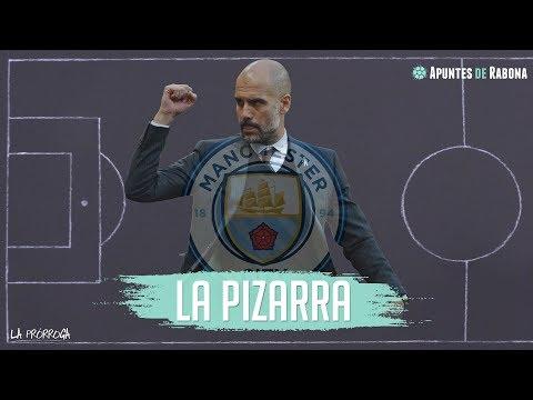 Táctica del Manchester City de Pep Guardiola