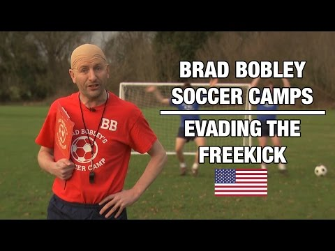 Guide to Freekick Defence Evasion Tactics | Brad Bobley Soccer Camps