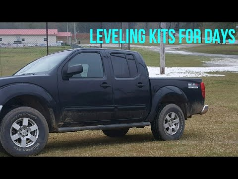 Nissan Frontier Leveling Kit Before And After - 2019-2020 New