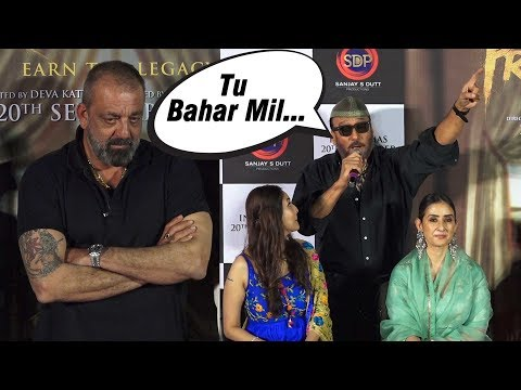 Sanjay Dutt & Jackie Shroff's Back To Back 'Tapori' Funny Moments   Dada Trolls Journalist