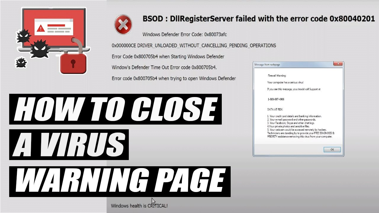 how to stop warning about web page