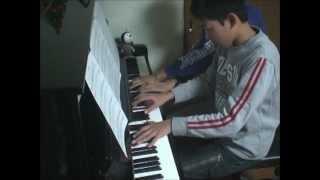 Atsu & Pomo のピアノ連弾。NHK連続テレビ小説「梅ちゃん先生」の主題歌...
