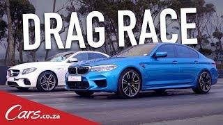 Drag Race - BMW M5 vs Mercedes-AMG E63 S