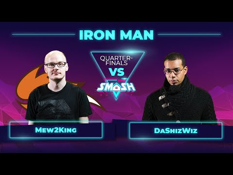Mew2King vs DaShizWiz - Iron Man Quarterfinals - Smash Summit 7