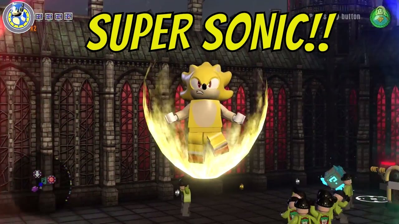 Lego Dimensions Sonic The Hedgehog Turns Into Super Sonic Youtube