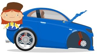 Video Dr McWheelie & a blue car. Cartoons for children. download MP3, 3GP, MP4, WEBM, AVI, FLV Januari 2018