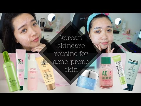 Korean Skincare Routine for Acne Prone Skin | How to Get Rid of Acne