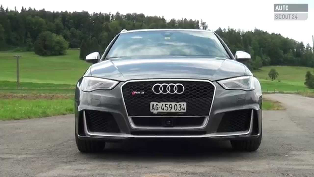 Audi Rs3 2015 Im Test Autoscout24 Youtube
