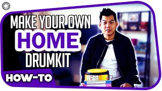 How To Make A Home Drum Kit Using Books And Paper | Lesson by My Drum School