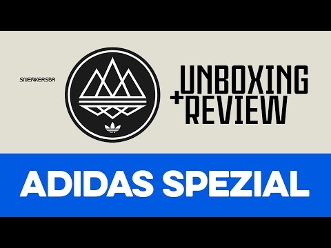 UNBOXING+REVIEW - adidas Spezial