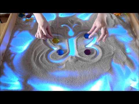 станции техника рисования песком для дошкольников следующий