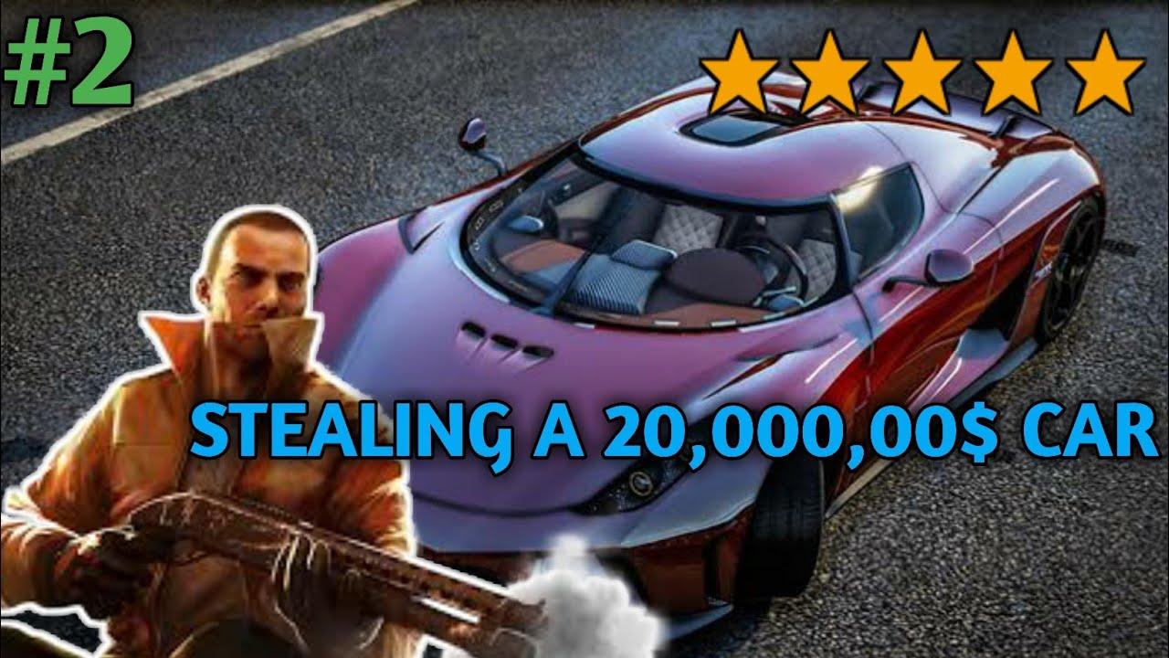 Download *STEALING A 20,000,00$ CAR* || GANGSTAR VEGAS HINDI😱😱||#2|| GAMEPLAY