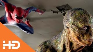 Драка Человека паука и Ящера в Школе ★ Новый Человек паук (2012)